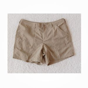 The North Face Khaki Shorts Hiking Outdoor Sz 10